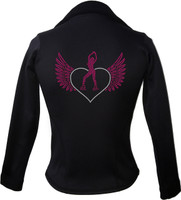 Kami-So Polartec Ice Skating Jacket - Skater Heart wings 3