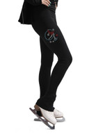 Kami-So Figure Skating Skinny Pants - Colorfull Spin