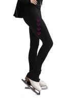 Kami-So Figure Skating Pants - Four Skates (Pink)