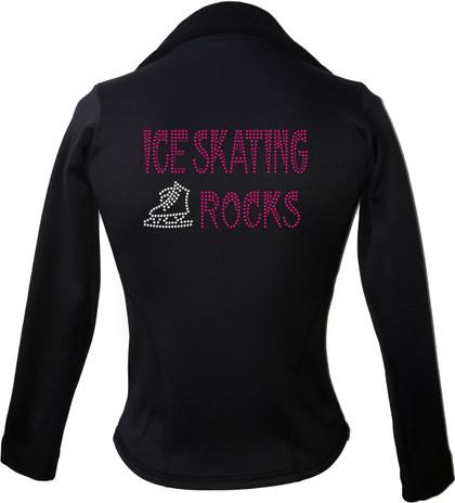 Kami-So Polartec Ice Skating Jacket - Hot Pink-ice