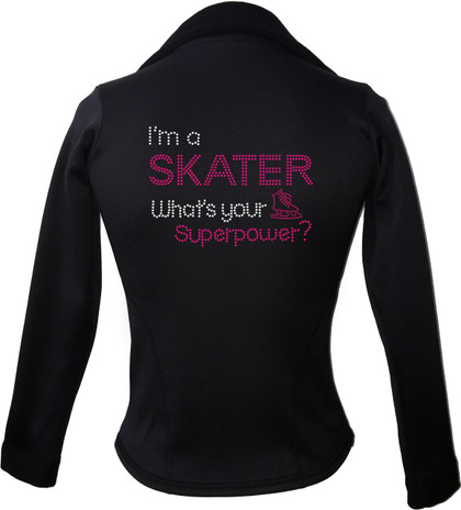 Kami-So Polartec Ice Skating Jacket - I'm a skater what's your superpower
