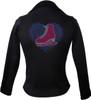 Kami-So Polartec Ice Skating Jacket - Love Skate Multi Blue 1