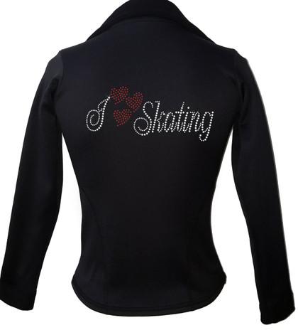 Kami-So Polartec Ice Skating Jacket - I Love Skating 2