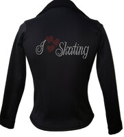 Kami-So Polartec Ice Skating Jacket - I Love Skating 2