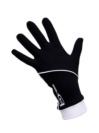 "Icedress - Thermal Figure Skating Gloves ""IceDress"" (Black and White)"