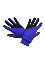 "Icedress - Two Color Thermal Figure Skating Gloves ""IceDress-Sport"" (Cornflower and Black)"