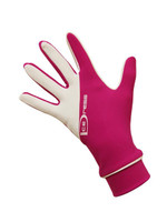 "Icedress - Two Color Thermal Figure Skating Gloves ""IceDress-Sport"" (Fuchsia and White)"