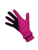 """Icedress - Two Color Thermal Figure Skating Gloves """"IceDress-Sport"""" (Fuchsia and Black)"""