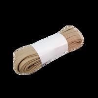 Riedell Spun Nylon Laces (Beige)