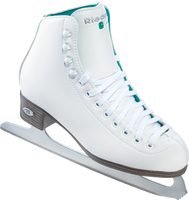 Riedell 2015 Model 10 Opal / 110 Opal Ice Skates and a FREE Skate Guards 2nd view