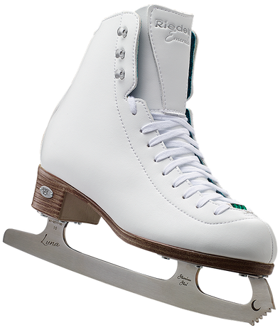 Riedell Model 19 Emerald Girls Ice Skates 2nd view