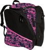 Transpack Ice - Ice skating bag (Pink Tiki Floral)