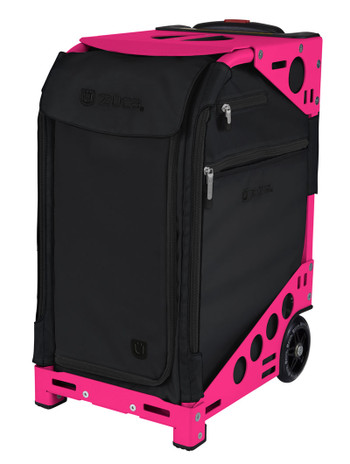 Zuca Artist Pro Bag - Oxford with Neon Pink  Frame 2nd view