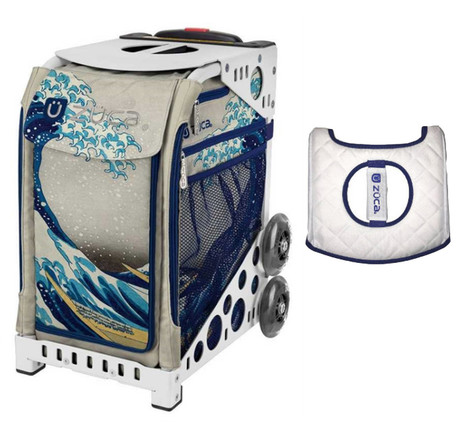 Zuca Sport Bag - Great Wave with Gift Seat Cover