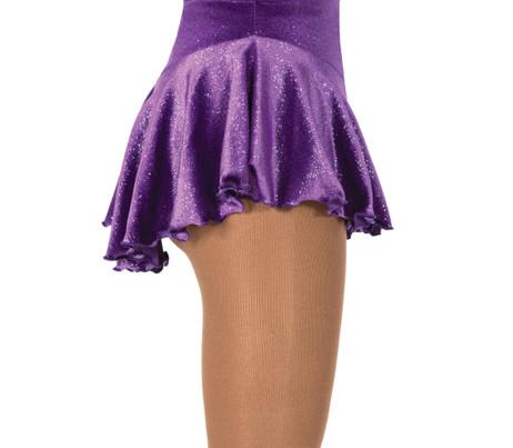 Jerry's 311 Twinkle Velvet Skirts - Violet