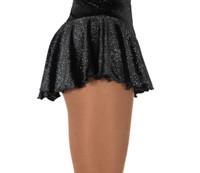 Jerry's 311 Twinkle Velvet Skirts - Black