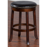 "24"" Swivel Backless Barstools"