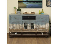 Urbana Coastal 2-Drawer and 4-Door TV Stand