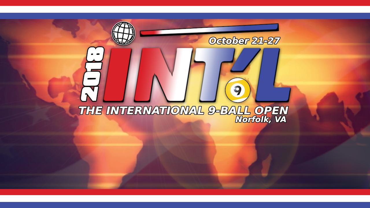 2018 International 9-Ball Open