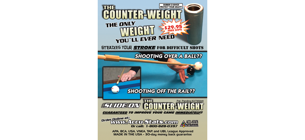 The Counter-Weight!  The OnLY weight you will EVER need!