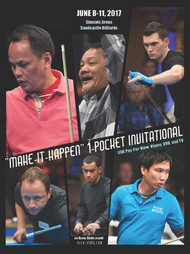 Efren Reyes vs. Josh Roberts* (DVD) | 2017 One Pocket Invitational