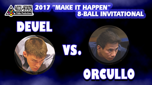 """Corey played outstanding 8-Ball. THis is a """"must see""""."""