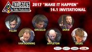 2017 Straight Pool Invitational Star Set (DVD)*
