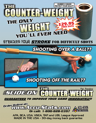 "From the Creative mind of Pat Fleming - The ""Counter-Weight"""