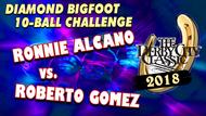 Ronnie Alcano vs. Roberto Gomez*