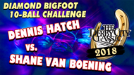 Dennis Hatch vs. Shane Van Boening