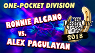Ronnie Alcano vs. Alex Pagulayan*