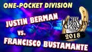 Justin Bergman vs. Francisco Bustamante*