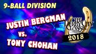 Justin Bergman vs. Tony Chohan*