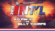 I9B-04D*: Ko Pin-Yi vs. Billy Thorpe*