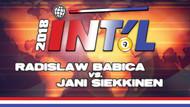 I9B-08d: Radoslaw Babica vs. Jani Siekkinen