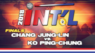IB9-26D*: Jung Lin Chang vs. Ko Ping-Chung (Finals)*
