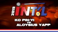 I9B2-11*: Ko Pin-Yi vs. Aloysius Yapp*