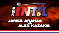 I9B2-13*: James Aranas vs. Alex Kazakis*