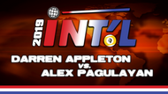 I9B2-17*: Darren Appleton vs. Alex Pagulayan*