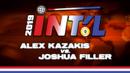 I9B2-18*: Joshua Filler vs. Alex Kazakis*