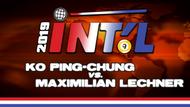 I9B2-19*: Maximilian Lechner vs. Ko Ping-Chung*