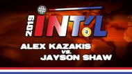 I9B2-20*: Alex Kazakis vs. Jayson Shaw*