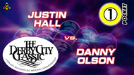 D22-1P1: Justin Hall vs. Danny Olson