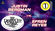 D22-1P3: Justin Bergman vs. Efren Reyes