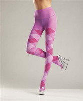 Argyle Tights in Bubblegum