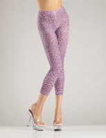 Leopard Footless Tights