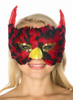 Feathered Bird Mask