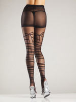 Mock Wraparound Tights