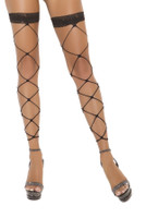 Footless Net Thigh Highs