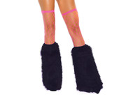 Knee High Fur Boot Covers